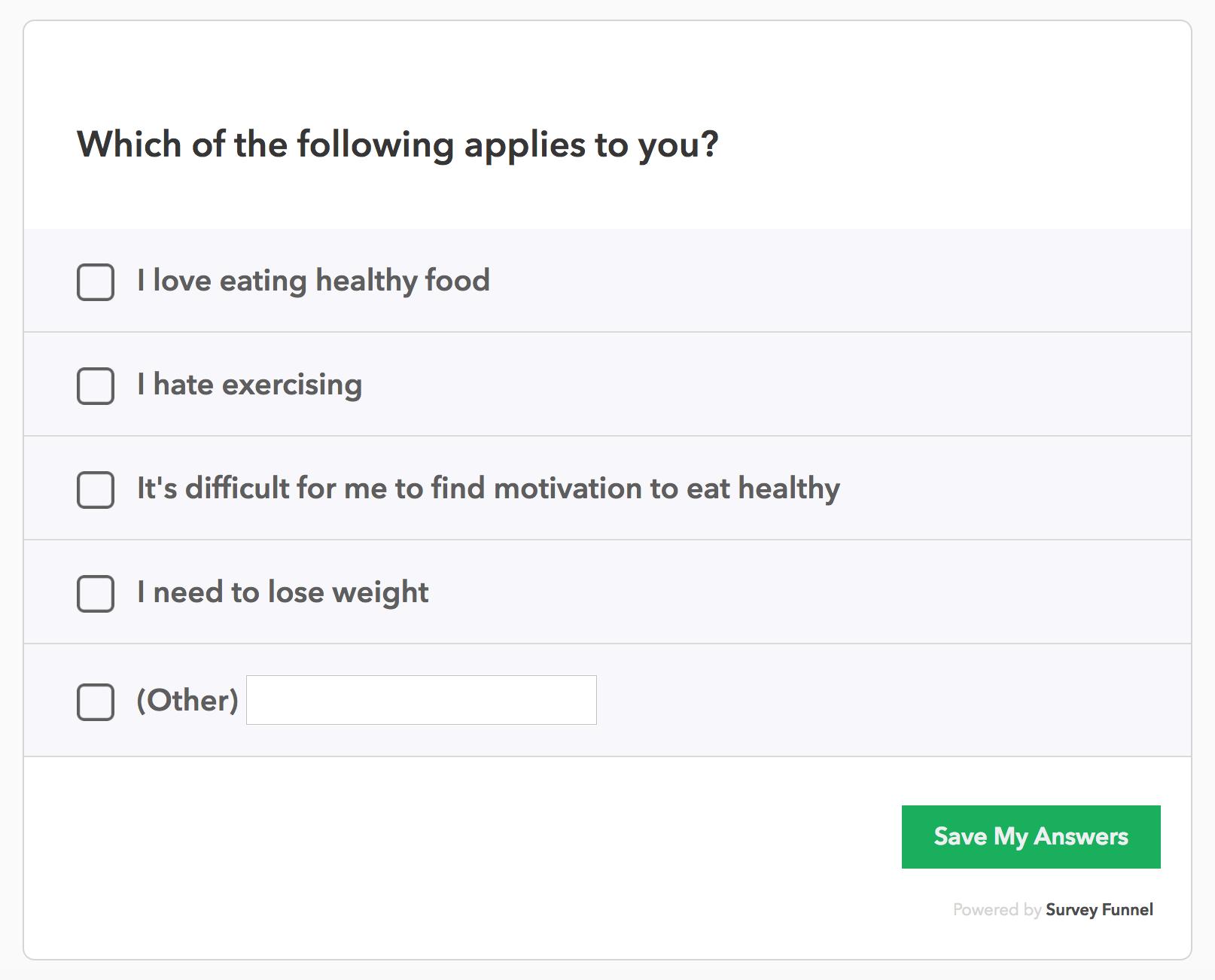 food survey questions - Keni.candlecomfortzone.com